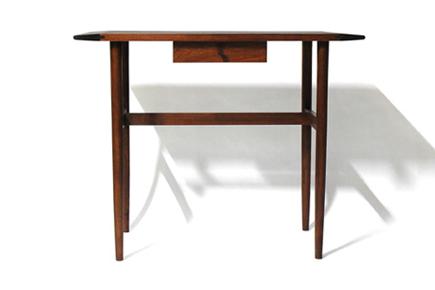 テーブル正面